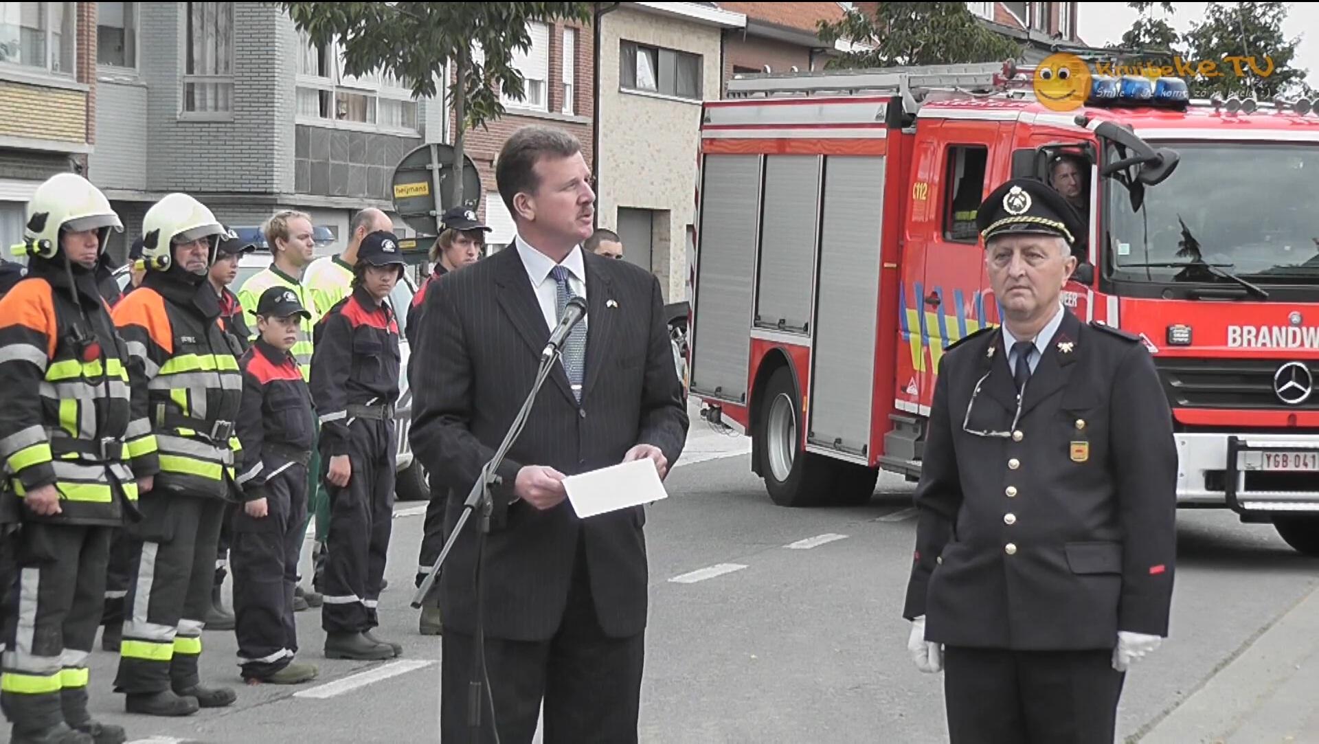 9-11 remembrance Kruibeke Belgie