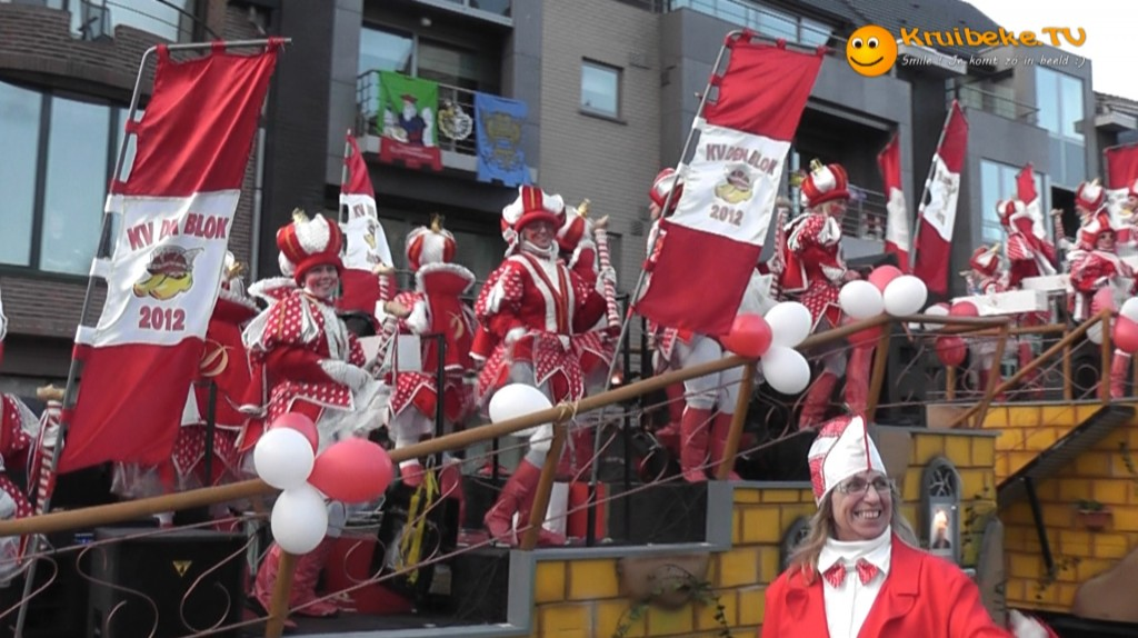 20120219 carnaval rupelmonde 5 van de Gerard de Cremerstraat naar het Mercatorplein