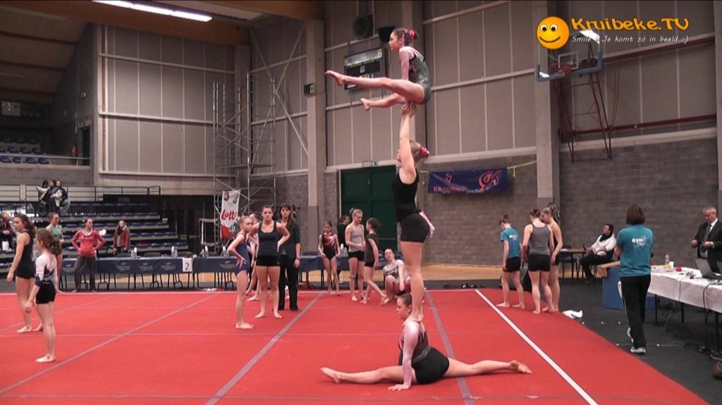 Provinciale Acrowedstrijd in de Dulpop van Bazel