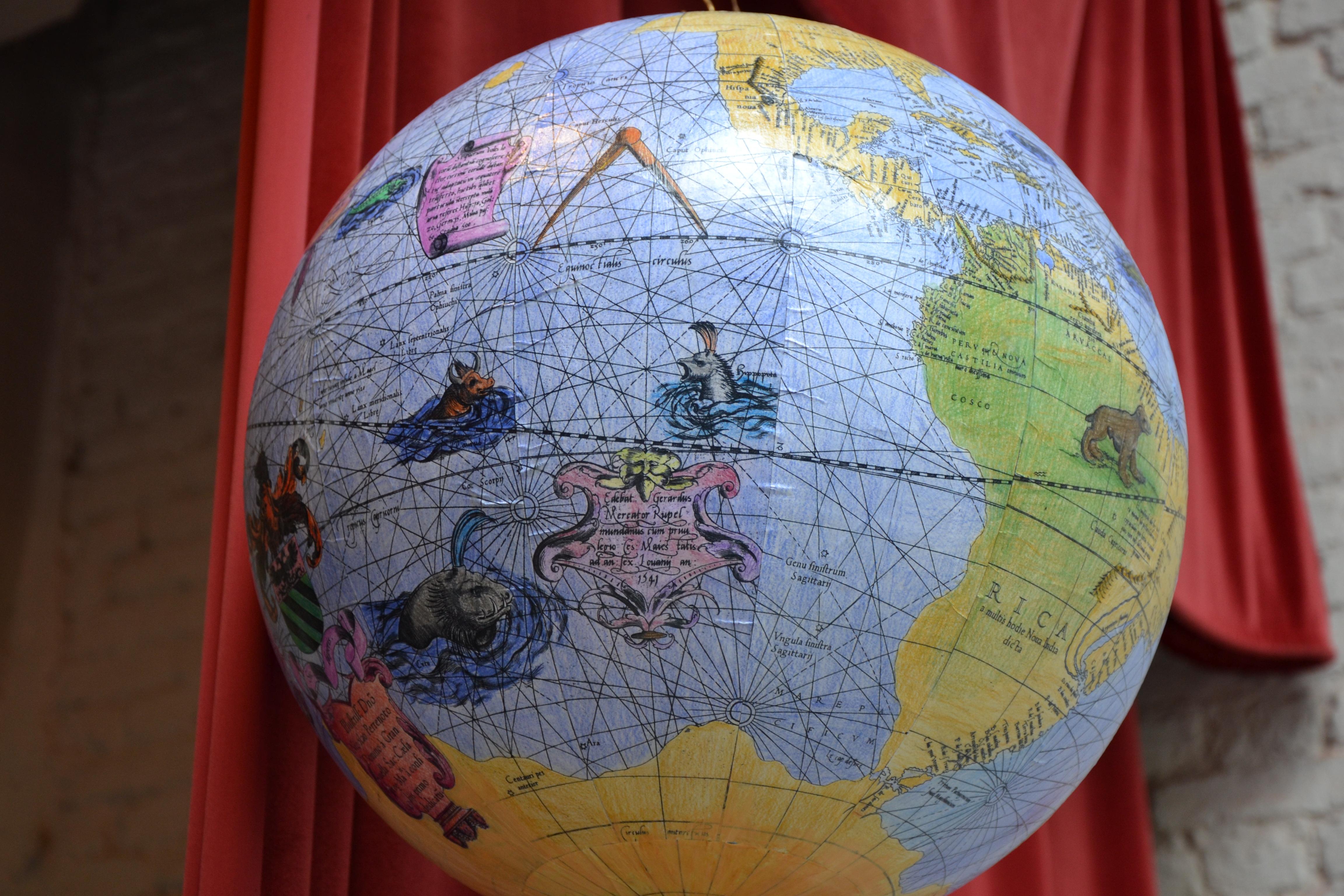 Wie maakte de mooiste Mercatorglobe?