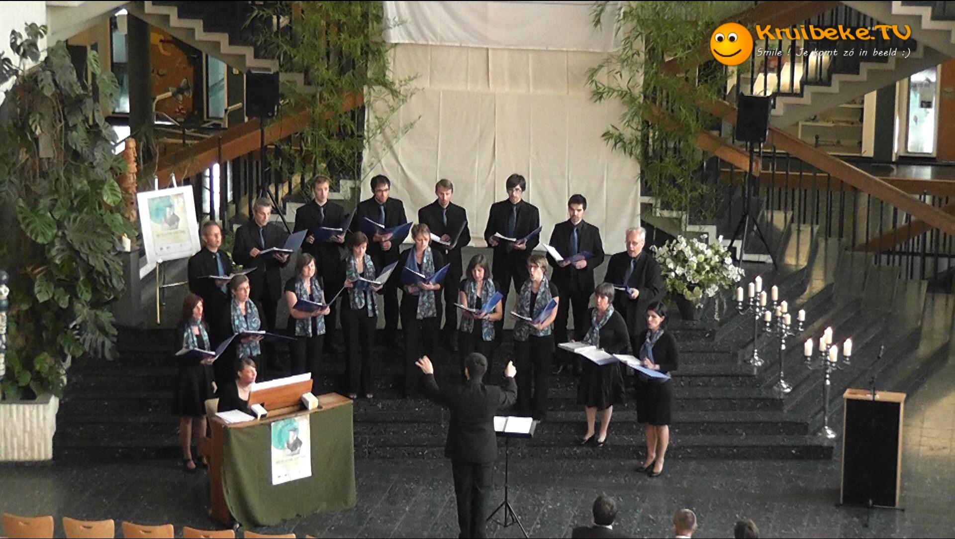 Kamerkoor Cantatille zingt Mercatorconcert in Gangelt