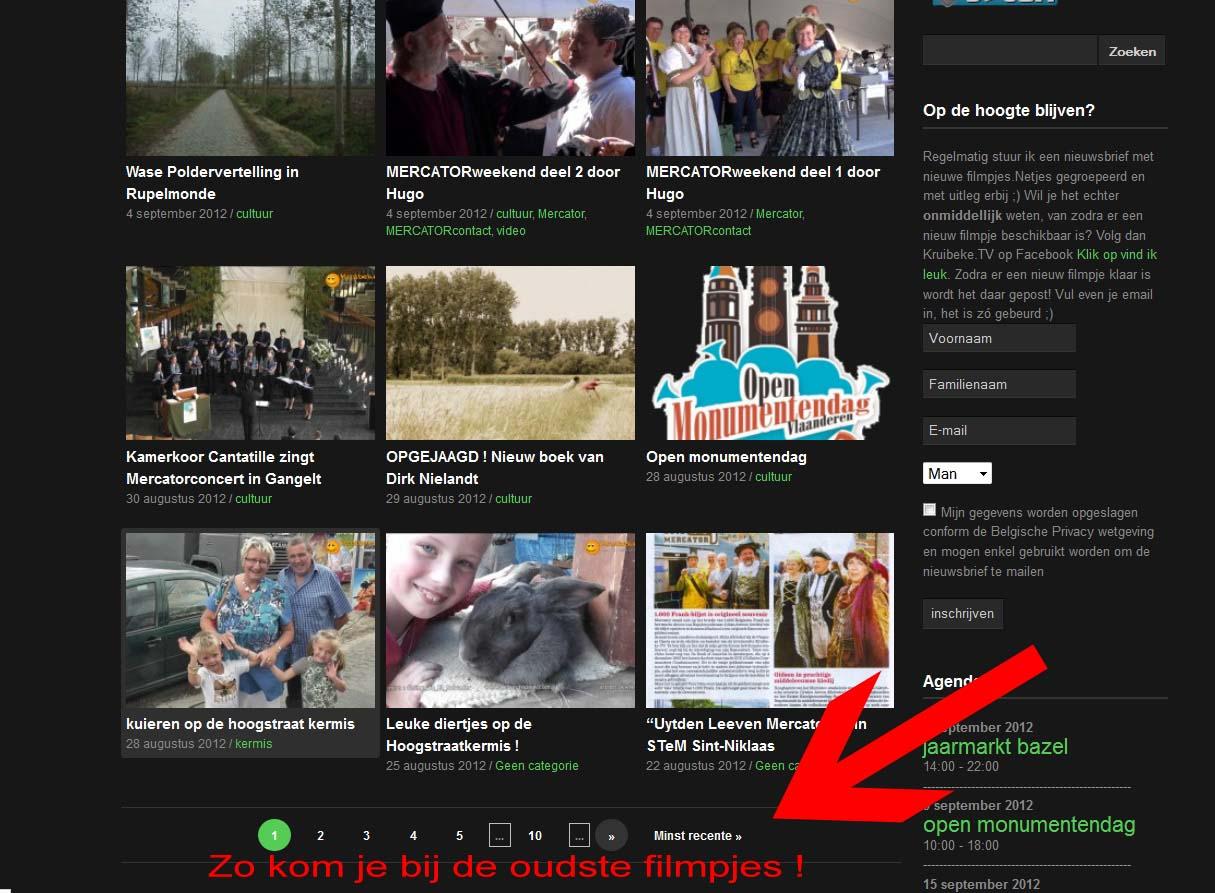 Filmpjes verdwenen bij OnzeTV van Telenet