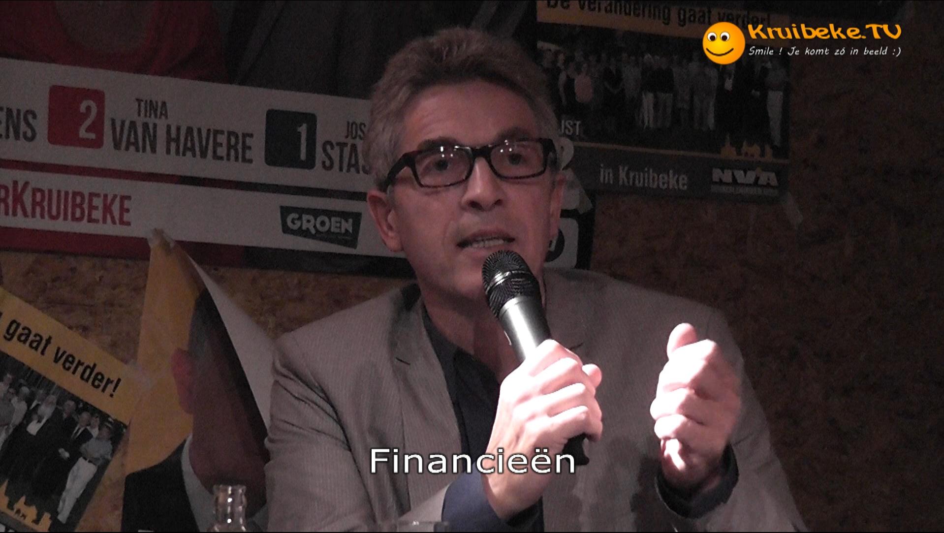 20121007 debattle deel 2 A de lijsttrekkers Financieën 1