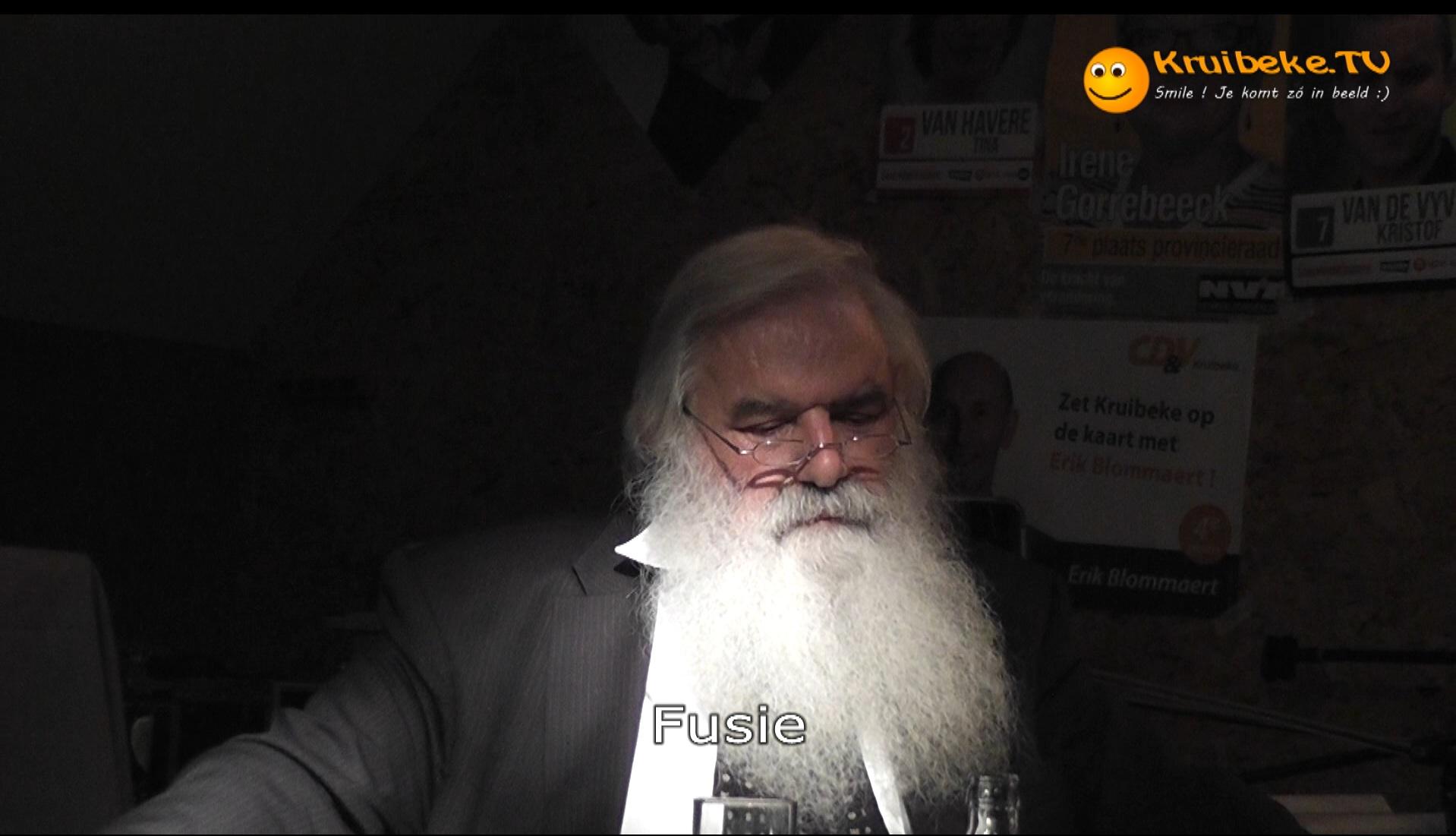 20121007 debattle deel 2 B de lijsttrekkers Fusie