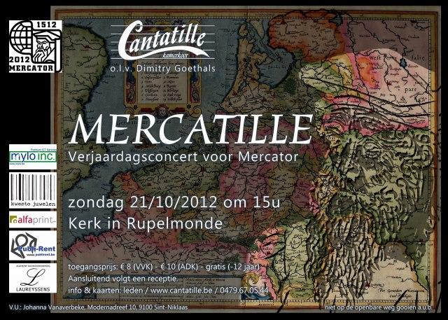 Mercatille concert door Kamerkoor Cantatille