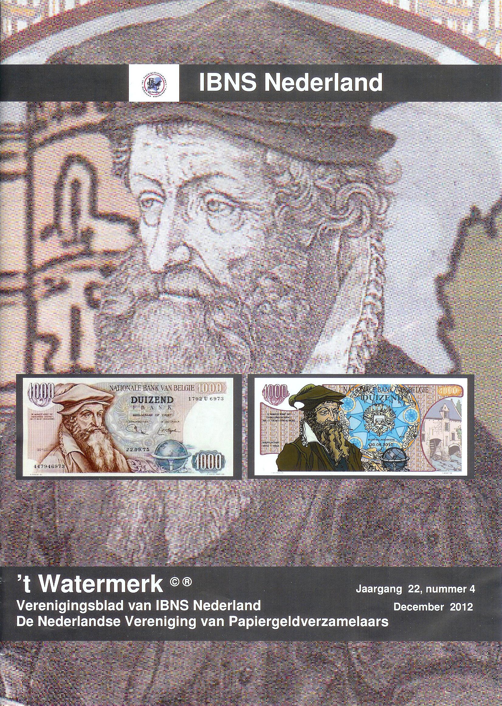 MERCATORcontact in Nederlands Tijdschrift voor Bankbiljettenverzamelaars