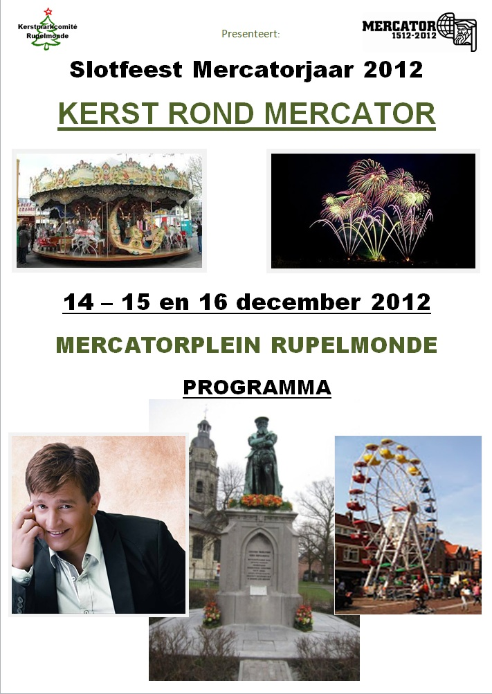 Kerst rond Mercator