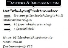 KWB Rupelmonde Whisky Night