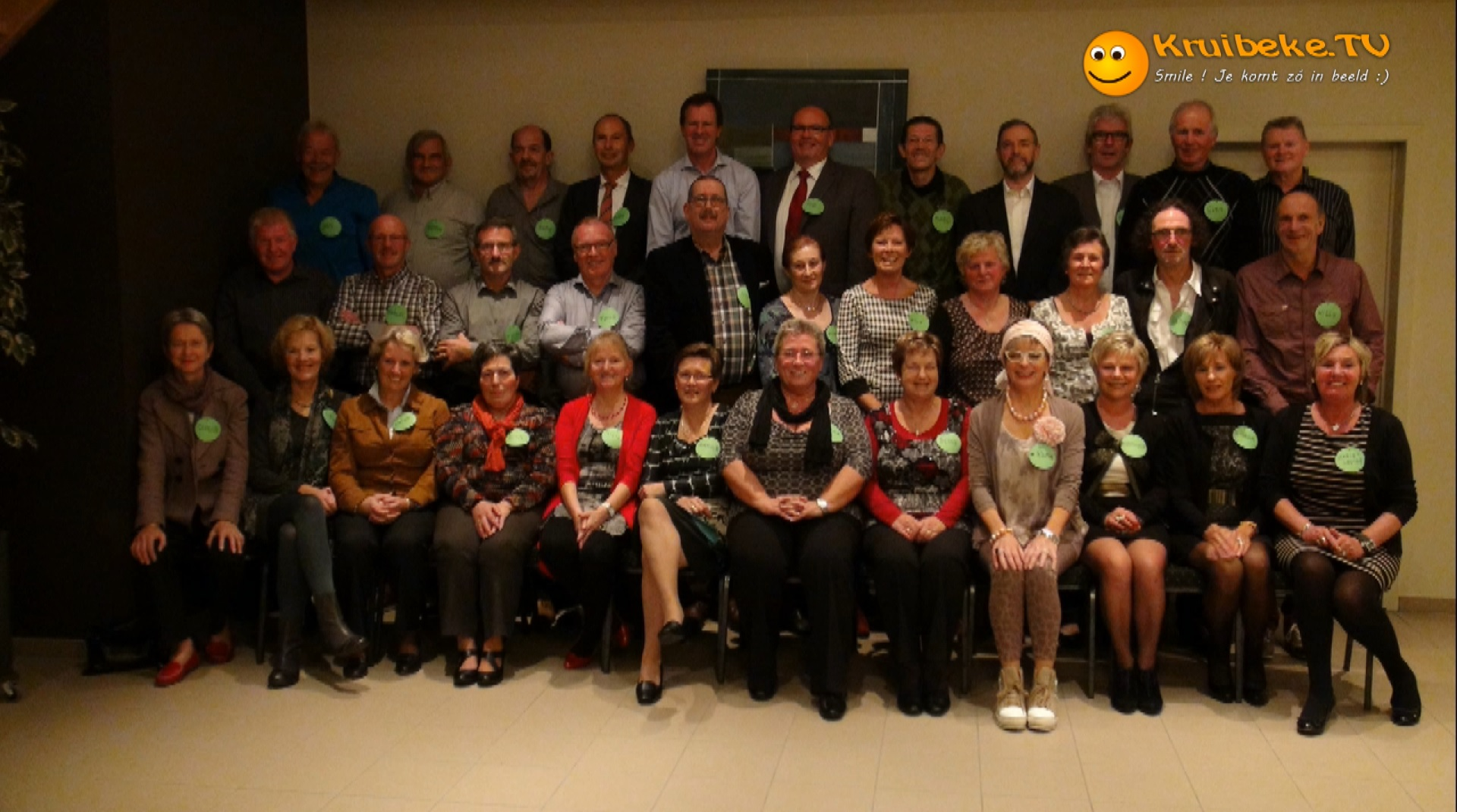 60 jarigen vieren feest in Kruibeke