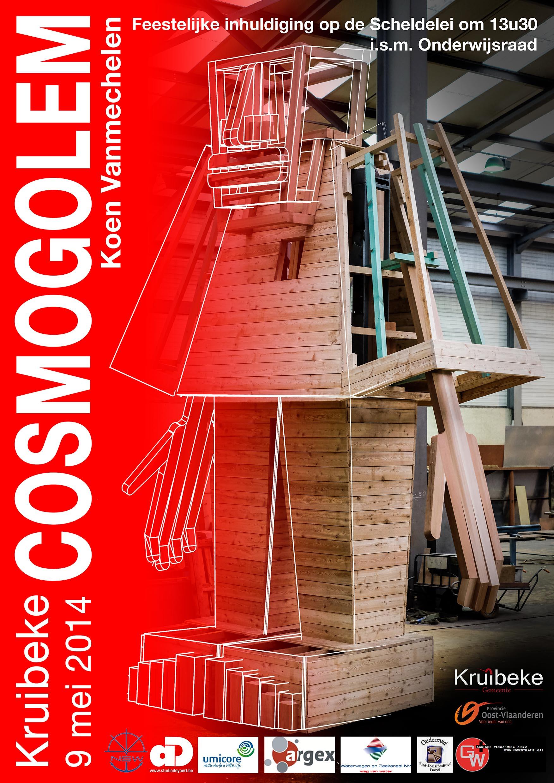 Kruibeke bouwt een CosmoGolem!
