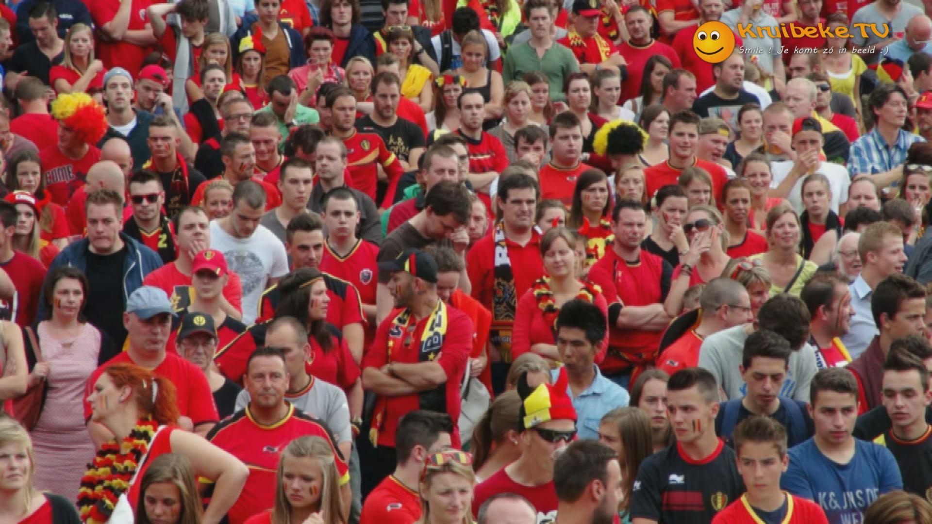België – Argentinië in Kruibeke