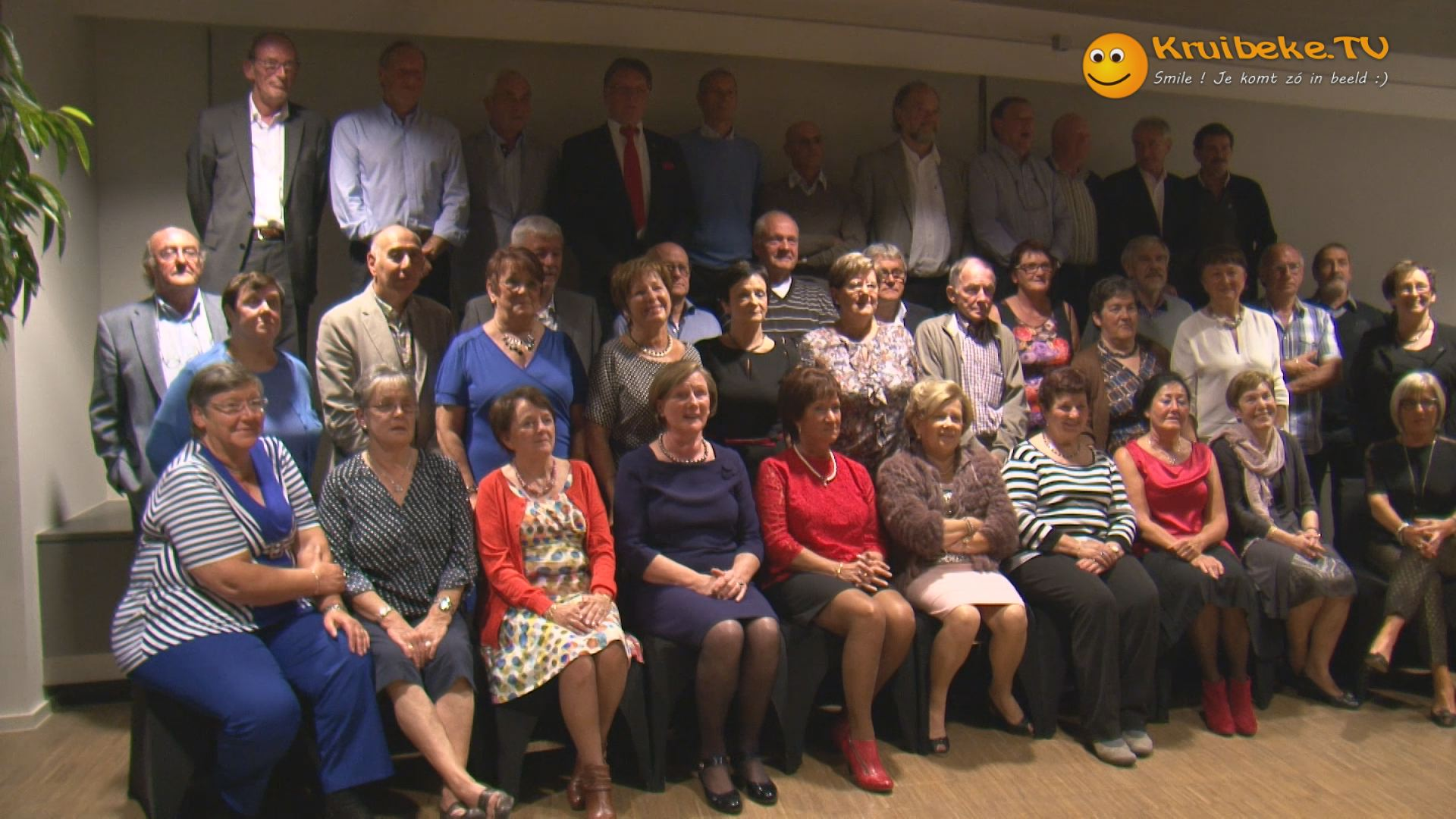 65 jarigen van kruibeke vieren feest