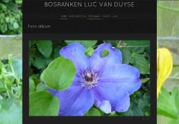 Luc Van Duyse zet de bloemetjes buiten!