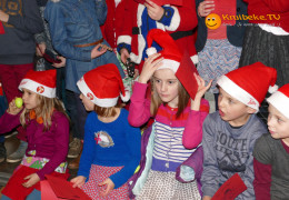 Kerstfeest in Pius X Kleuterschool