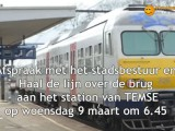 Station Temse gaat dicht !