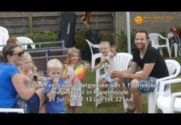 't Groot feest van 't Belgiekske aan 't Fabriekske