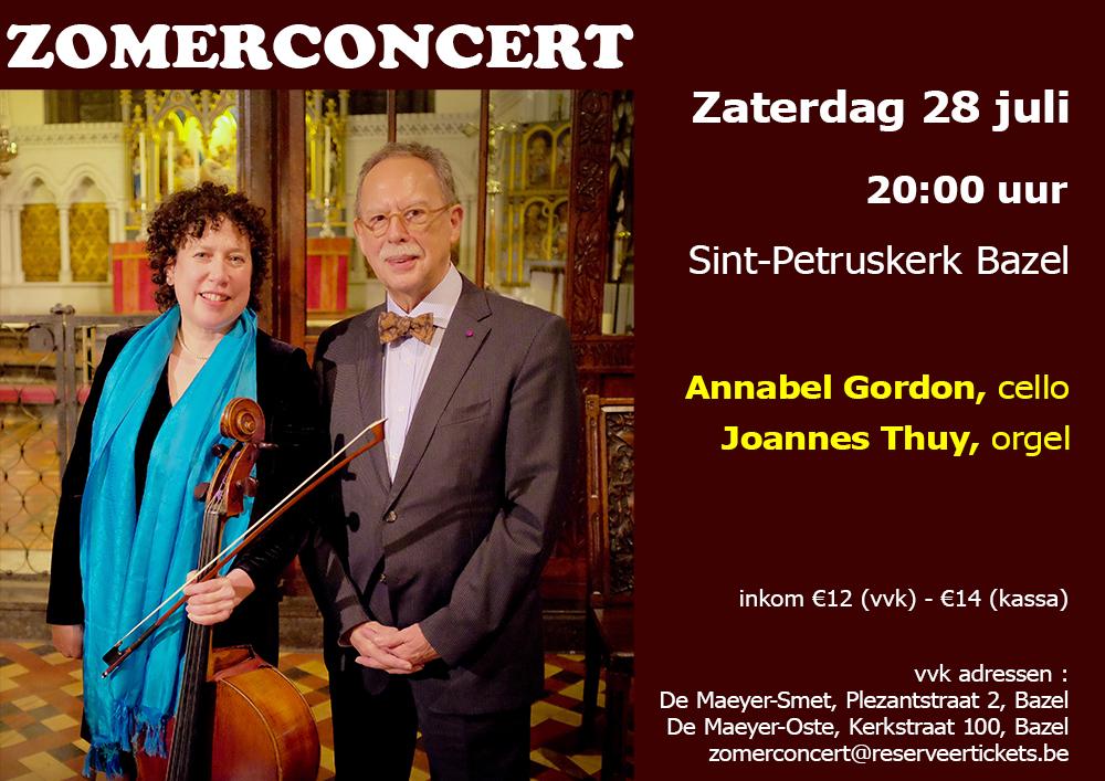 Annabel Gordon en Joannes Thuy